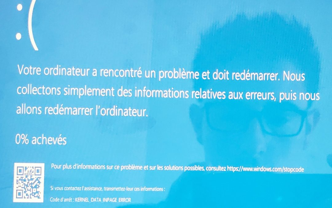 Comment corriger l'erreur Windows 10 Kernel Data Inpage Error