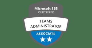 Certifié Administrateur Microsoft Teams par Microsoft