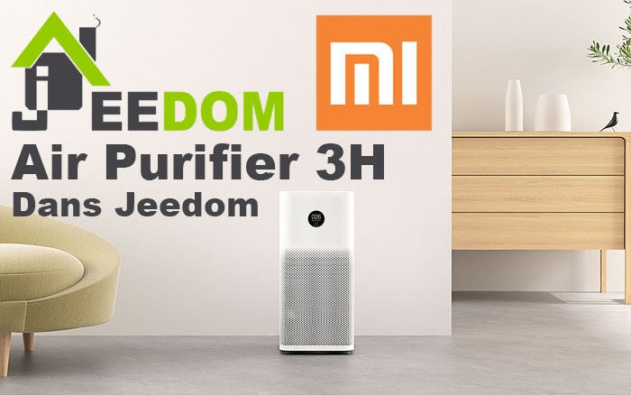Connecter le Purifier 3H Xiaomi à Jeedom